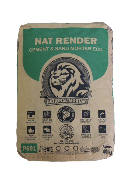 Nat Render - Cement & Sand Mortar