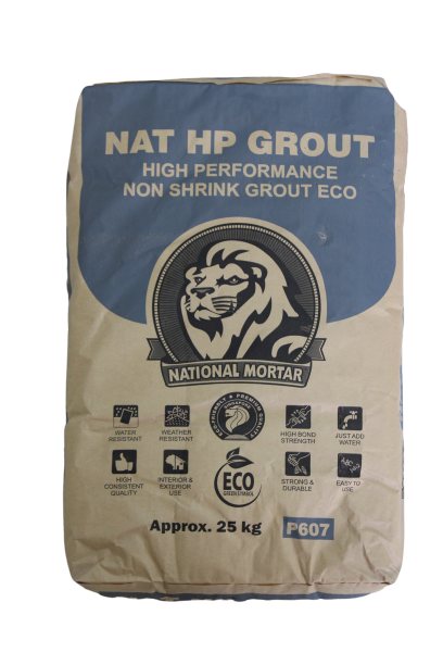 Nat HP Grout - Non Shrink Grout