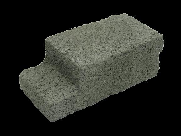 190x90x70mm L-Shape Cement Brick