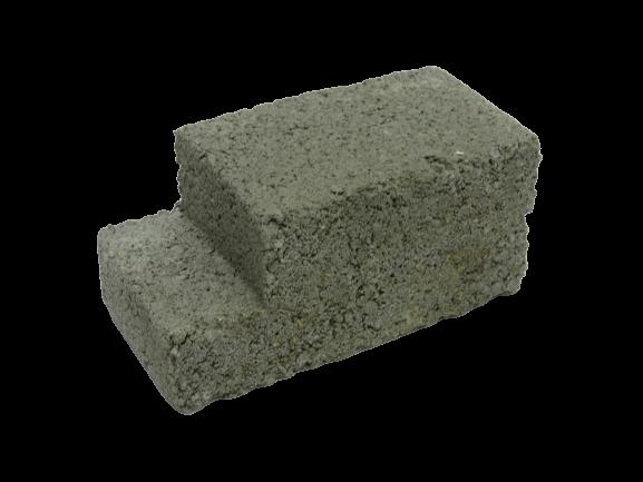 190x90x90mm L-Shape Cement Brick