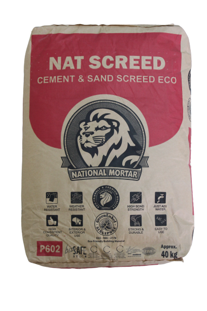Nat Screed - Cement & Sand Screed