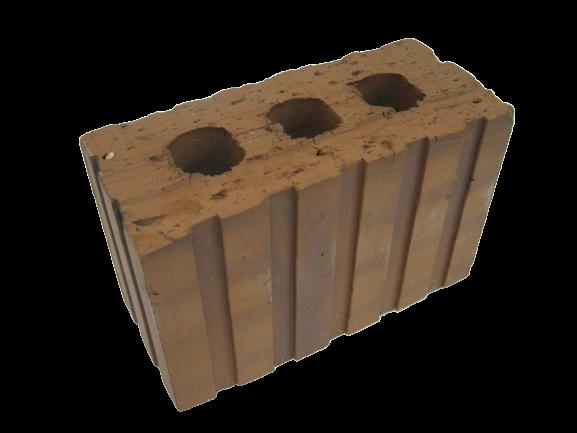 3 Holes Common Block - 215x100x140mm