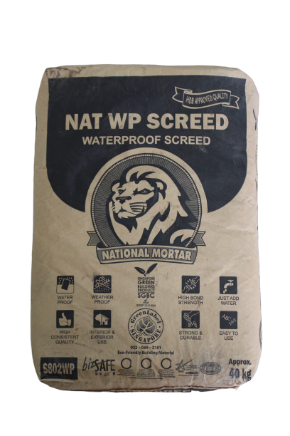 Nat WP Screed - Waterproof Screed