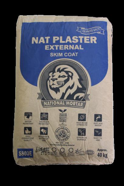 Nat Plaster - External Skim Coat
