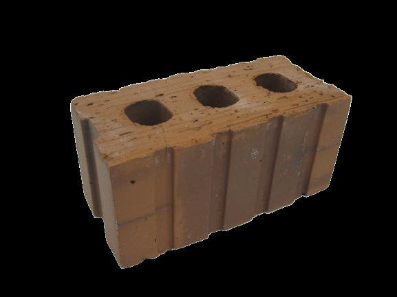 M211 3 Holes Brick - 190x90x90mm