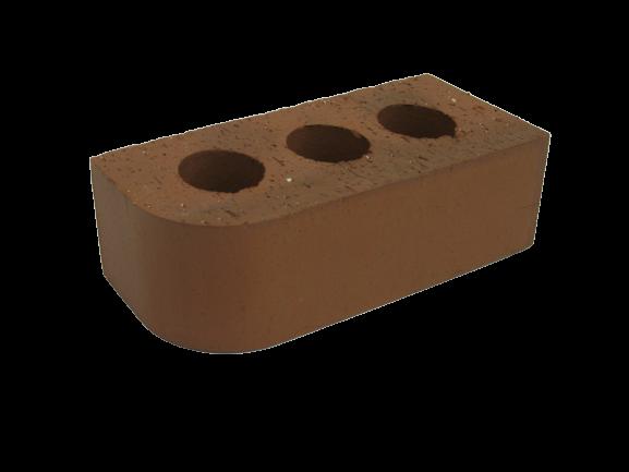 Single Bullnose Brick - 215x100x70mm